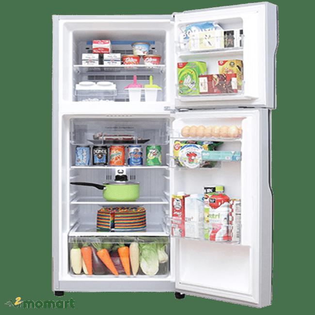 Tủ lạnh Hitachi Inverter 203 lít R-H200PGV4 ngăn chứa thực phẩm