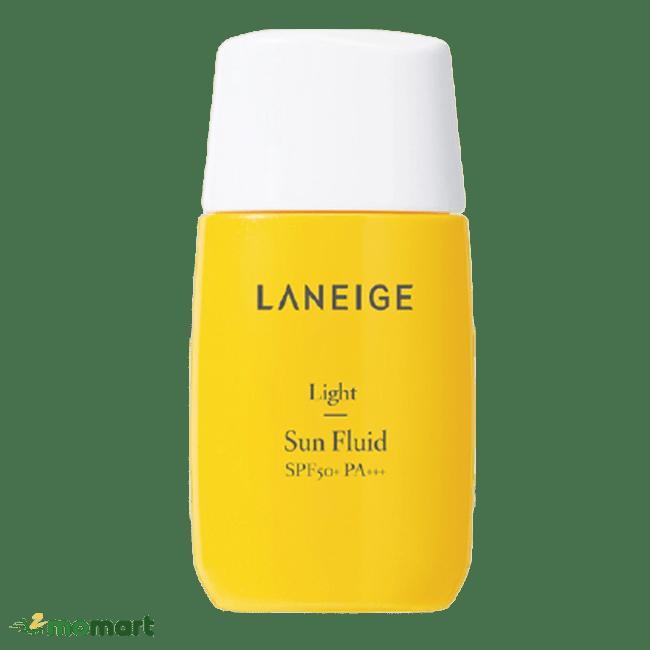 Thiết kế của Laneige Light Sun Fluid SPF50+ PA+++