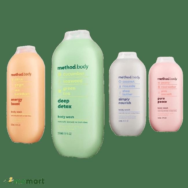Các loại Sữa tắm Method body