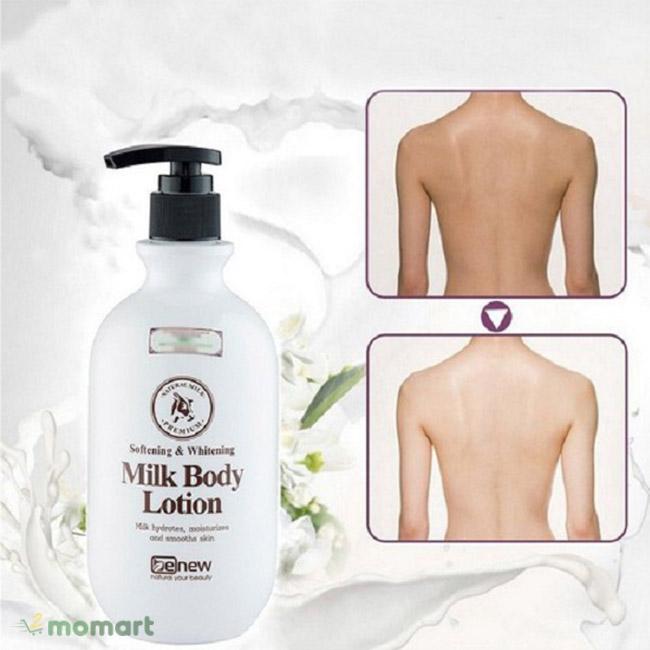 Benew Whitening Body Lotion cải thiện da hiệu quả