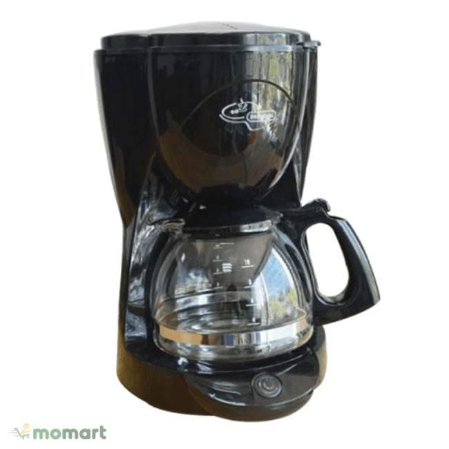 Máy pha cà phê Delonghi ICM2.1B chụp nghiêng phải