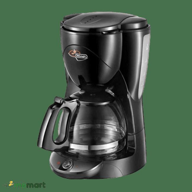Máy pha cà phê Delonghi ICM2.1B chụp nghiêng trái