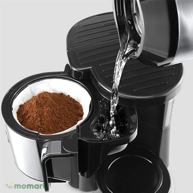 Máy pha cà phê Delonghi ICM2.1B cách sử dụng
