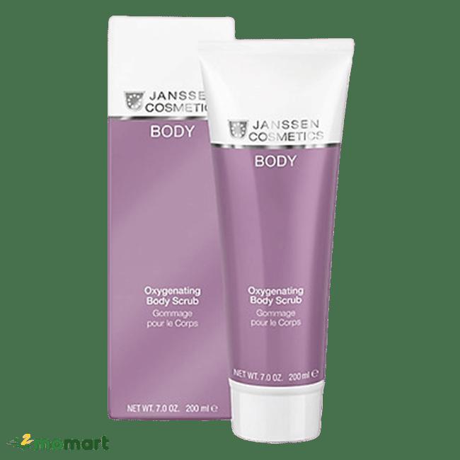 Tuýp Janssen Cosmetics Oxygenating Body Scrub 200ml