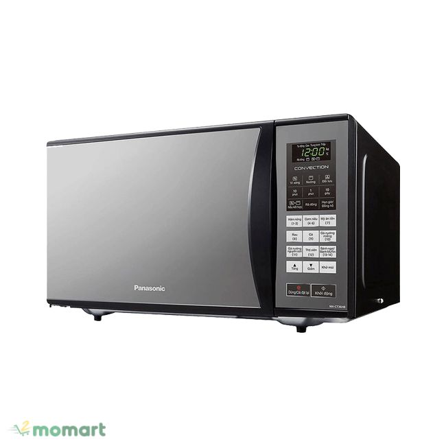 Lò vi sóng Panasonic NN-CT36HBYUE giúp nấu nướng thuận tiện nhanh chóng