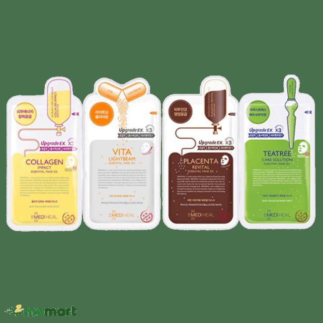 Bốn sản phẩm mặt nạ Mediheal