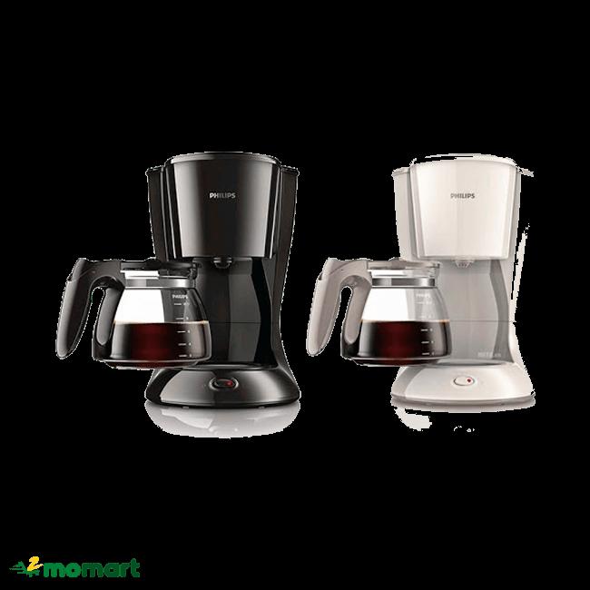 Máy pha cà phê Philips HD7447 có màu sắc bắt mắt
