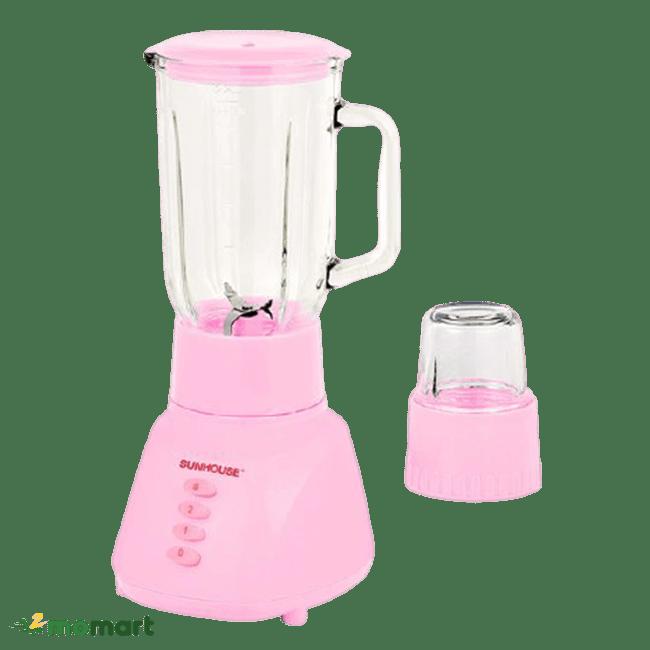 Phiên bản màu hồng máy xay sinh tố Sunhouse SHD 5112