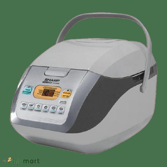 Sharp KS-COM18V đang nấu cơm