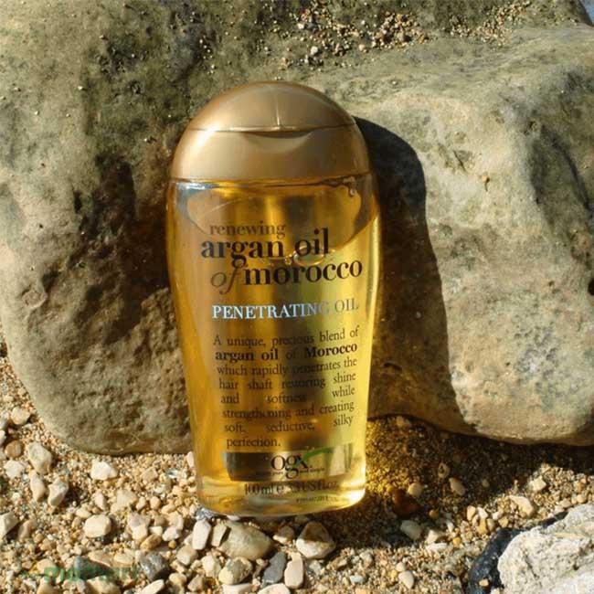Hình thật của dầu dưỡng tóc Argan Oil Of Morocco