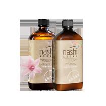 Dầu gội Nashi giúp mái tóc chắc khỏe và mềm mượt nhờ thành phần tự nhiên an toàn