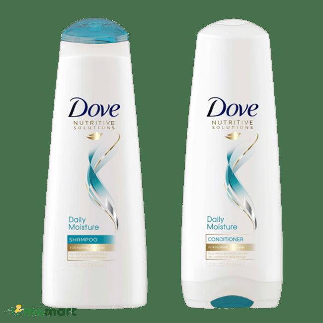 Combo gội xả của dầu xả Dove