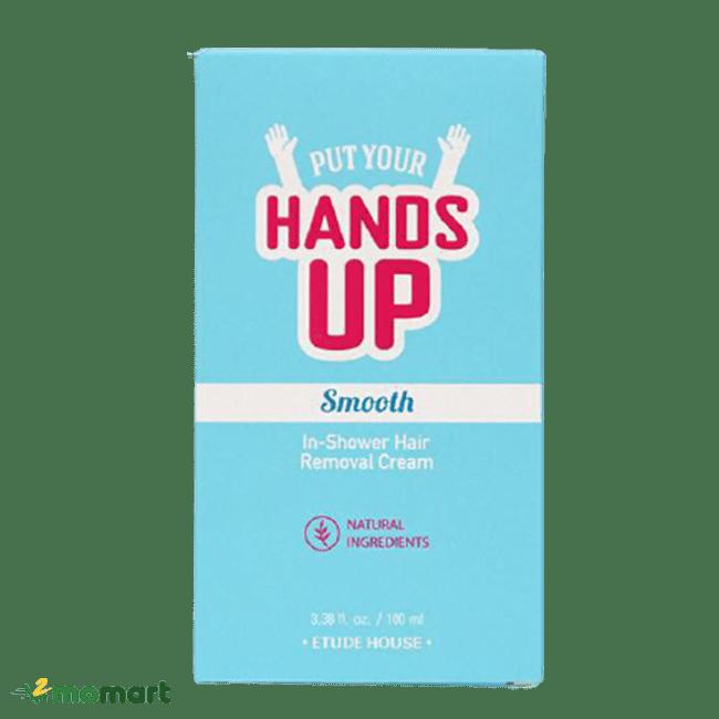 Hộp đựng sản phẩm kem tẩy lông Etude House Put Your Hands Up