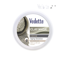 Mặt nạ đất sét Vedette giúp da sạch mụn và mịn màng