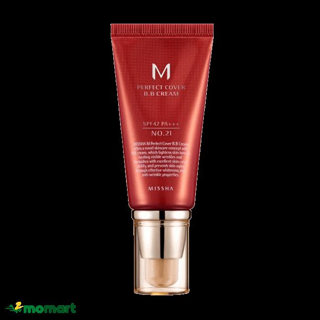 Kem nền Missha M Perfect Cover BB Cream Hàn Quốc