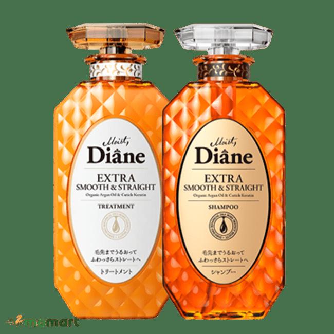 Dầu gội xả Moist Diane màu cam