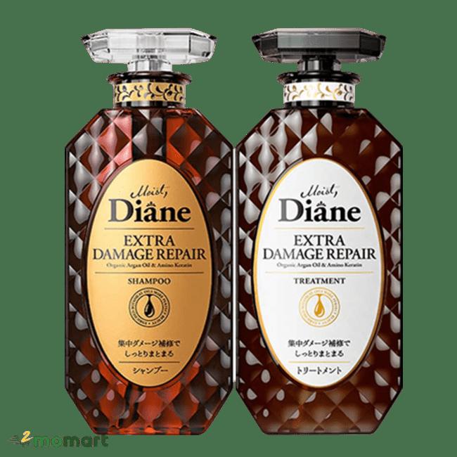 Dầu gội xả Moist Diane màu đen