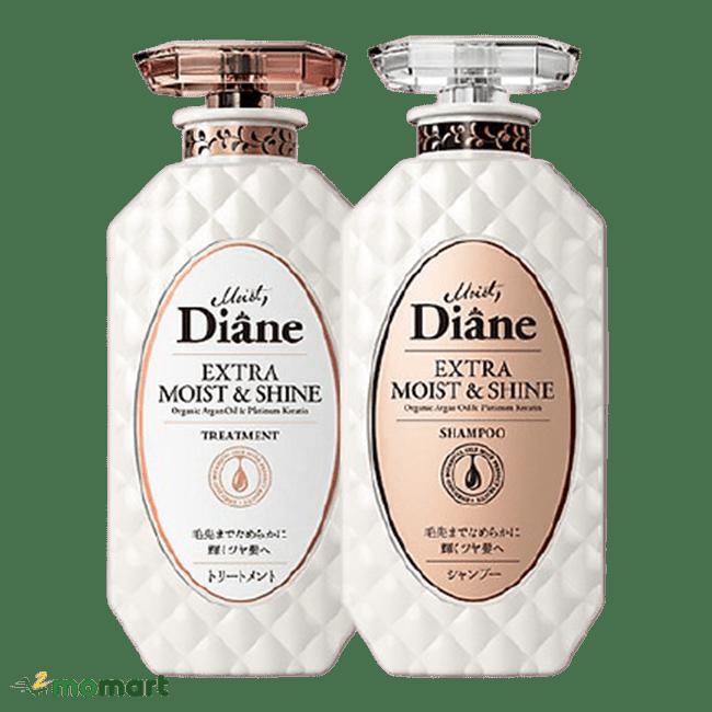 Dầu gội xả Moist Diane màu trắng