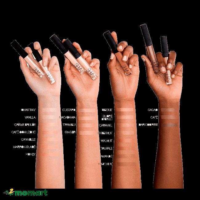 Nars Radiant Creamy Concealer giúp làn da mịn màng không tì vết