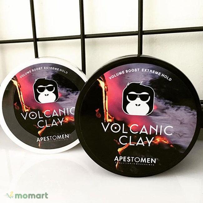 Sáp vuốt tóc Volcanic Clay 2018 và 2019