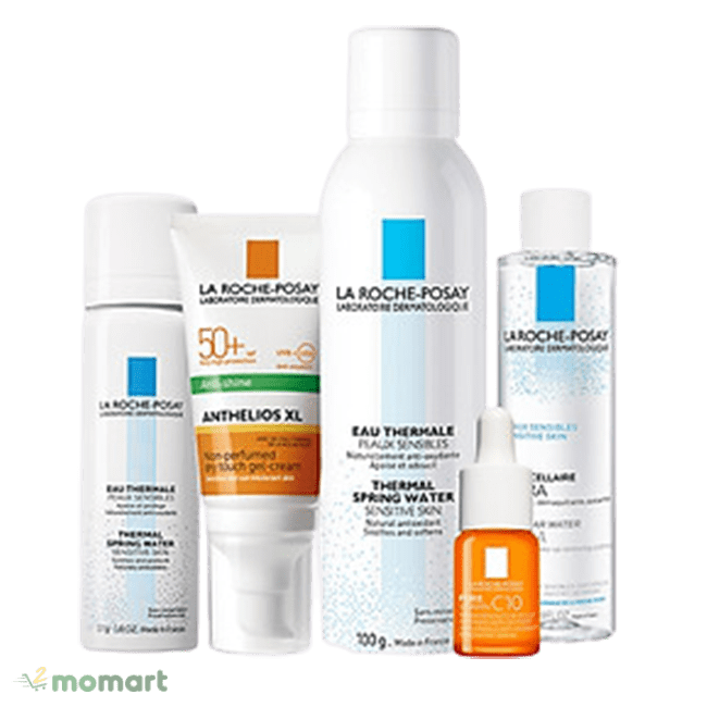 Set trắng da La Roche-Posay Anthelios Dry Touch