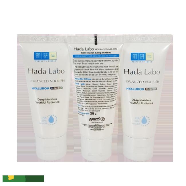 Sữa rửa mặt Hada Labo cao cấp
