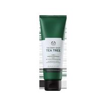 The Body Shop Tea Tree 3-in-1 Scrub có thành phần tràm trà giúp kháng khuẩn cho da