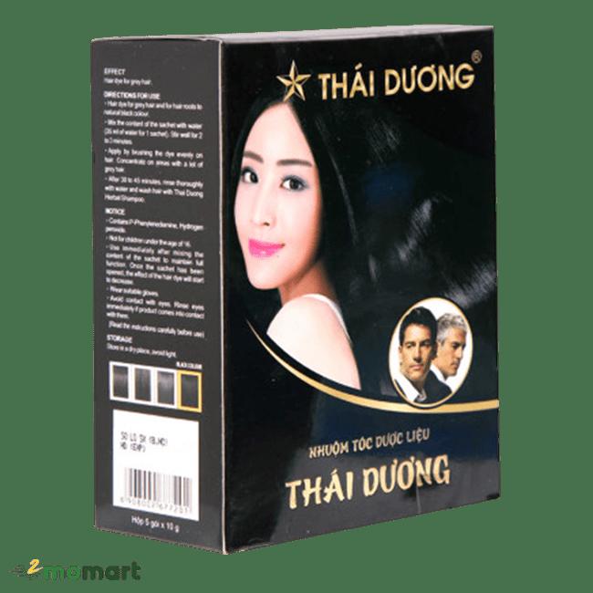 Thuốc nhuộm tóc Thái Dương chiều nghiêng