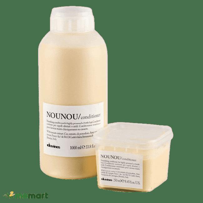 Thiết kế hai dạng của ủ tóc Nounou Davines