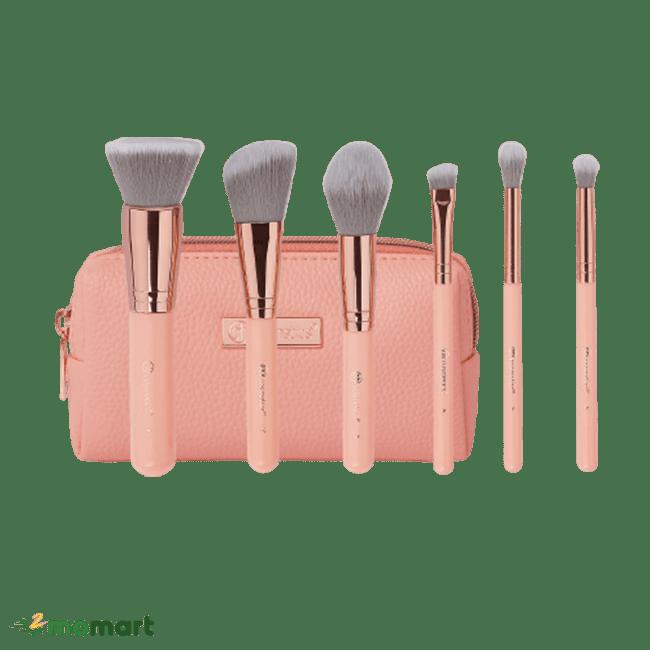 Bộ cọ BH Cosmetics màu hồng