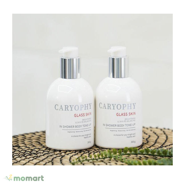 Caryophy Glass Skin dưỡng thể toàn thân