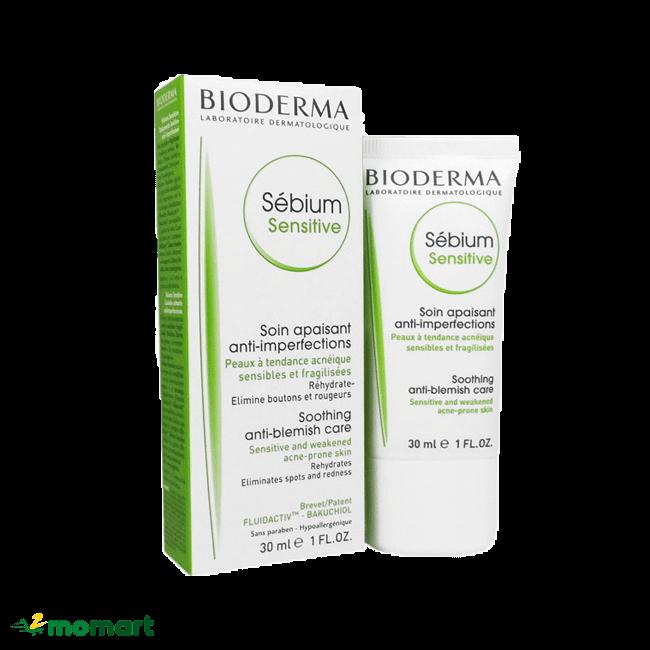 Kem dưỡng ẩm Bioderma giá phải chăng