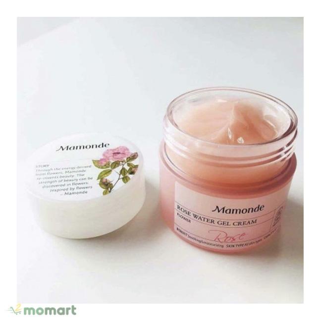 Mamonde Rose Water Gel Cream giúp cấp ẩm nhanh