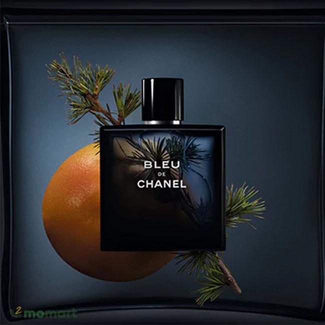 Nước hoa Bleu de Chanel hương cam quýt