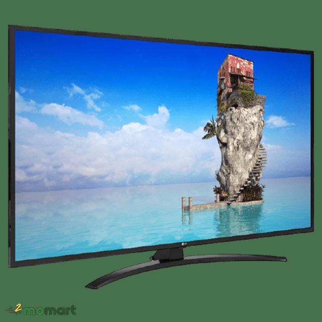 Smart Tivi LG 4K UHD 55 inch 55UM7400PTA AI ThinQ góc phải