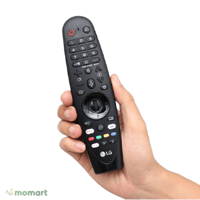 Smart Tivi NanoCell LG 4K 49 inch 49SM8100PTA điều khiển từ xa