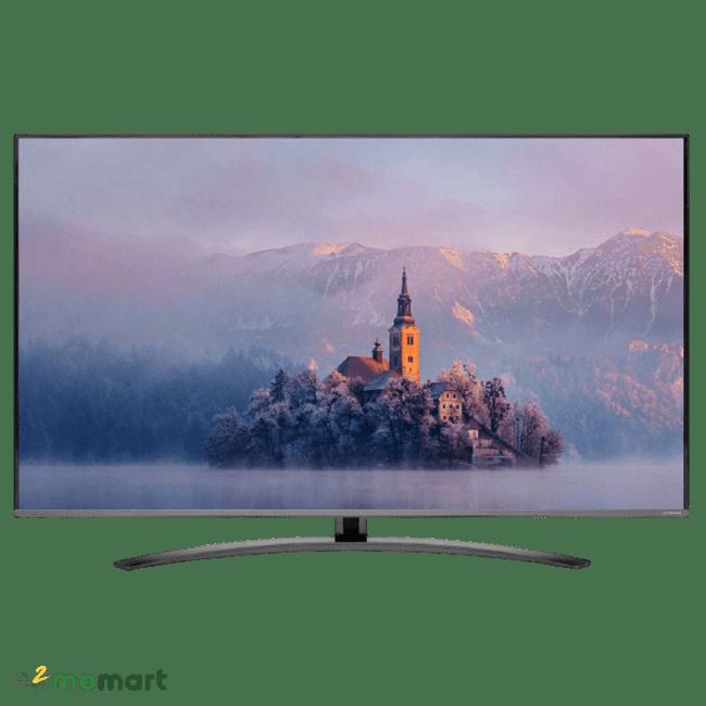 Chụp trực diện Smart Tivi NanoCell LG 4K 49 inch 49SM8100PTA