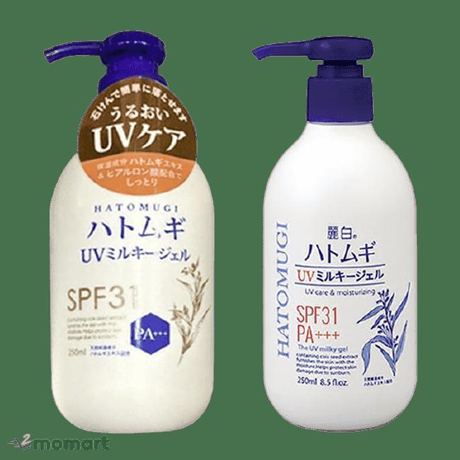 Sữa dưỡng thể Hatomugi tái tạo tế bào da