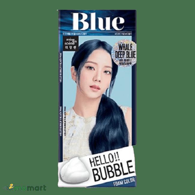Thuốc nhuộm tóc BlackPink màu xanh dương