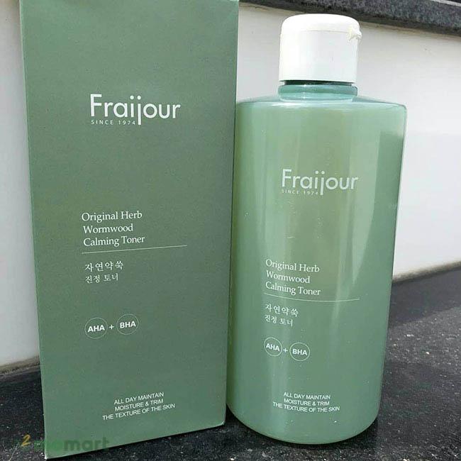 Toner thảo mộc Fraijour hiệu quả
