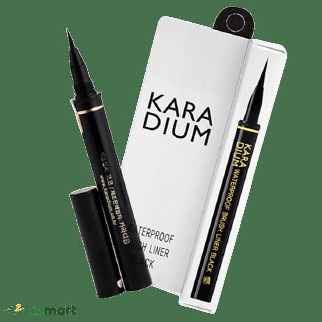 Đầu bút của kẻ mắt Karadium Waterproof Eyeliner Pen
