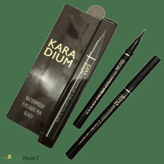 Thiết kế của bút kẻ mắt Karadium Waterproof Eyeliner Pen