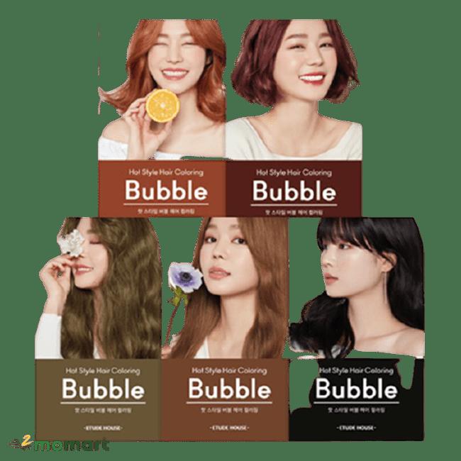 Etude House Hot Style Bubble màu bán chạy nhất