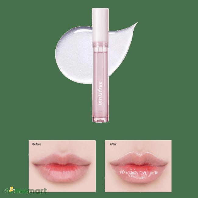 Sử dụng Innisfree Plumping Lip Glow