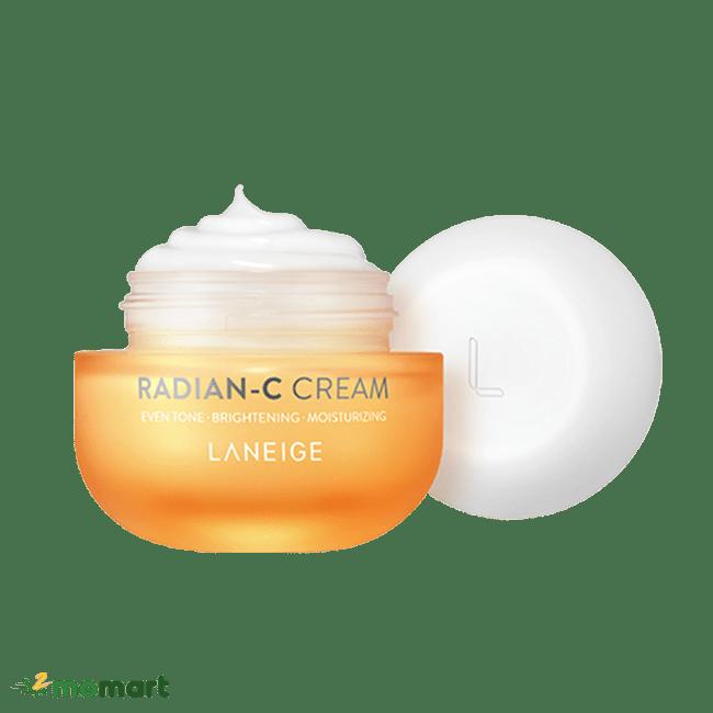 Laneige Radian C Cream thành phần bên trong