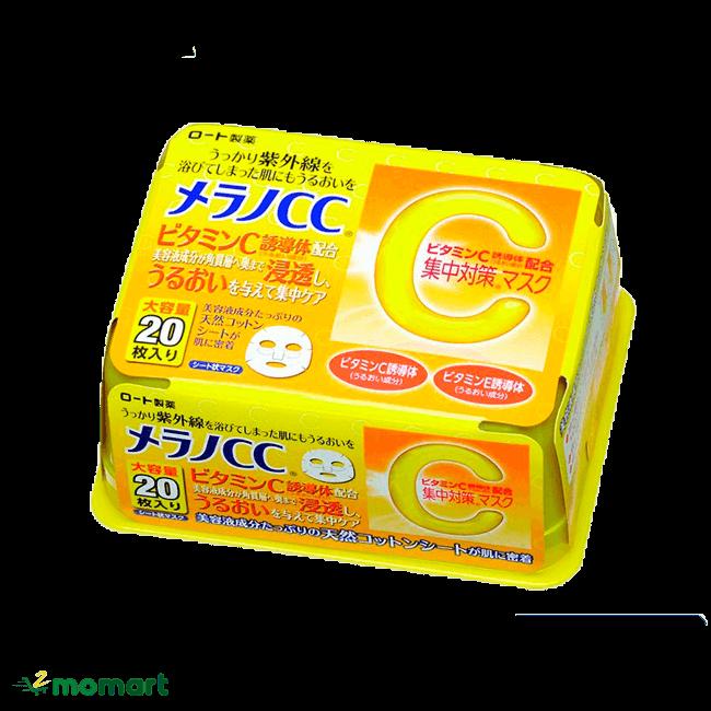 Mặt nạ Melano CC Vitamin C chính hãng