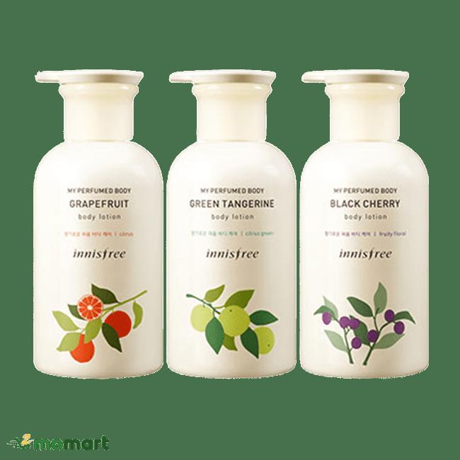 3 sản phẩm My Perfumed Body Lotion