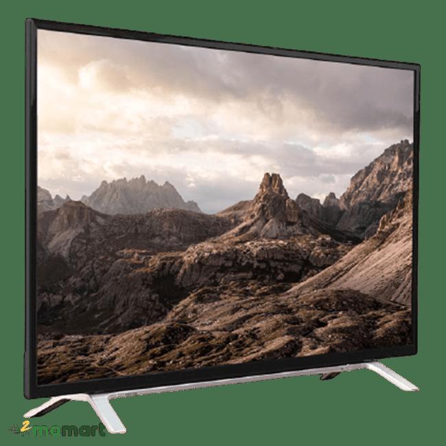 Smart Tivi Toshiba 49 inch 49L5650 chụp nghiêng phải