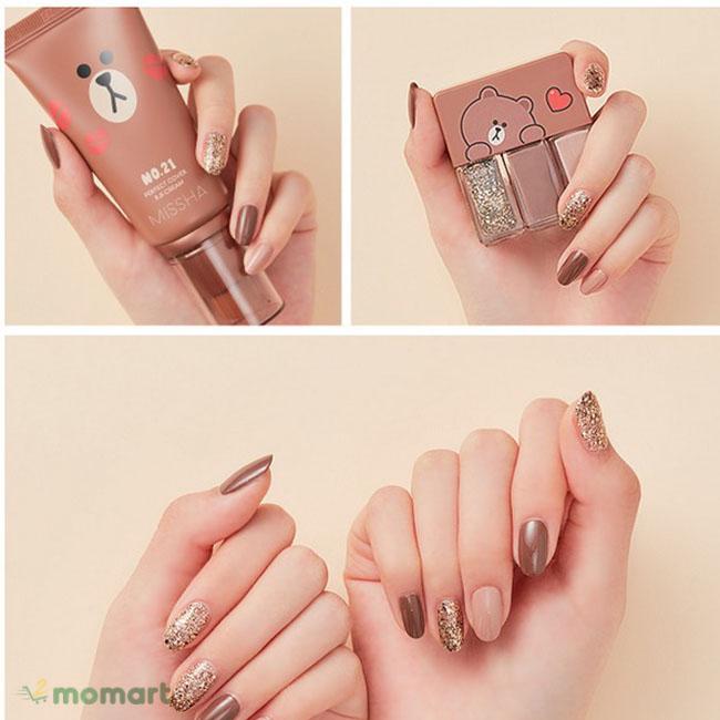 Sơn móng tay Missha thiết kế dễ thương