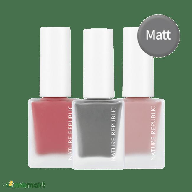 Ba màu sơn móng tay Nature Republic Color